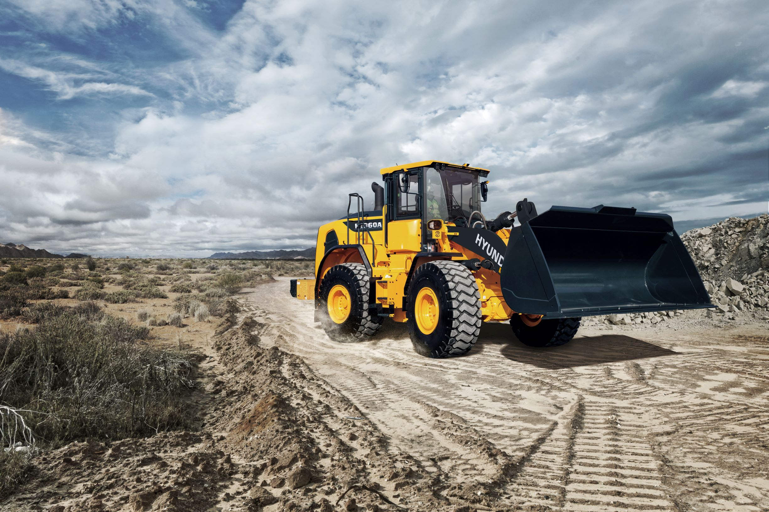 Hyundai's SaMoTeR 2020 award-winning HL960A wheeled loader