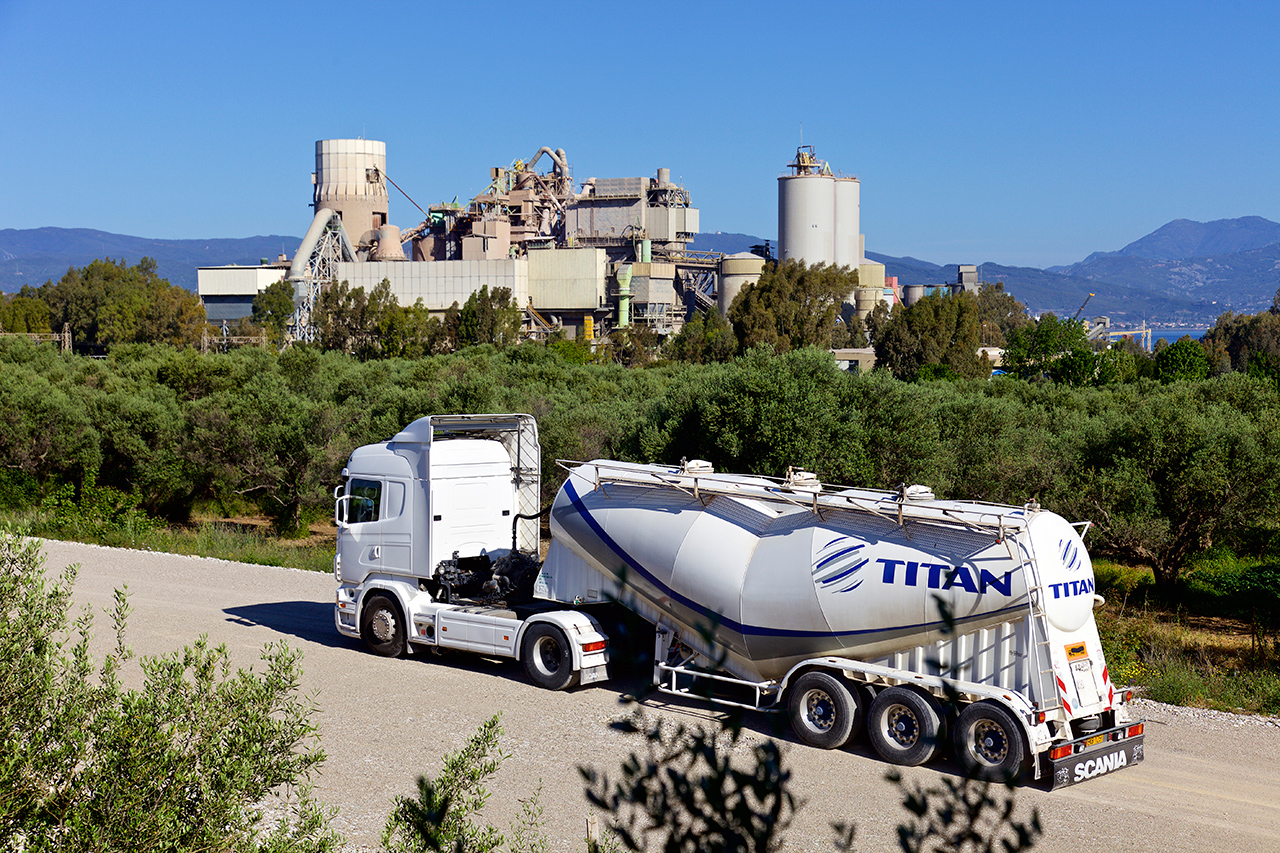 Titan has launched a number of recent digital initaitives, including supply chain advanced analytics. Image: Titan Greece