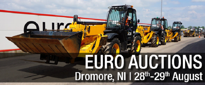 Around 1,000 items of equipment are on offer at the Dromore auction