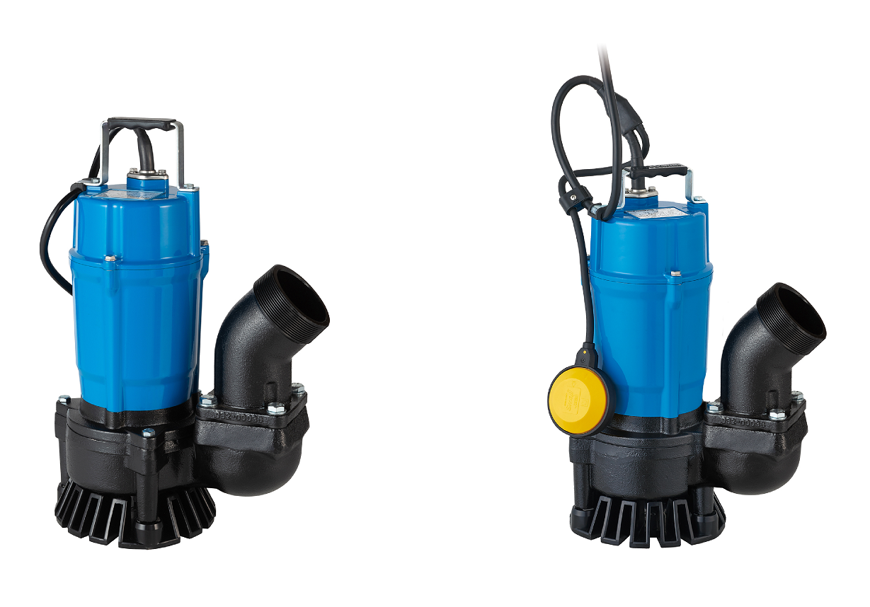 Tsurumi's newest pumps, the HS3.75SL (left) and HSZ3.75SL (right)