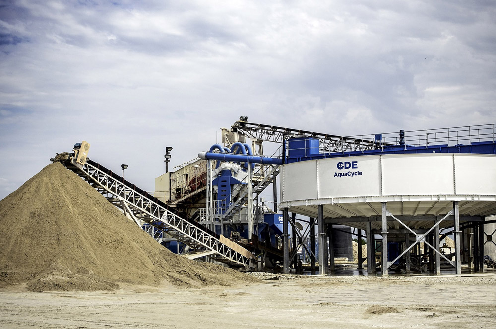 The event will cover sand and aggregates, C&D waste recycling, industrial sands, mining and wastewater
