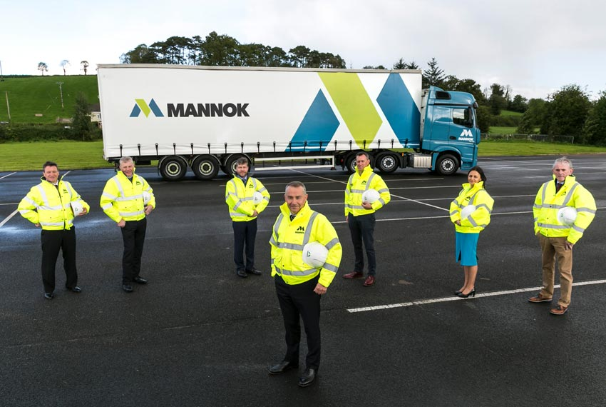 The Mannok branding covers all Quinn's operations including quarries, cement and precast