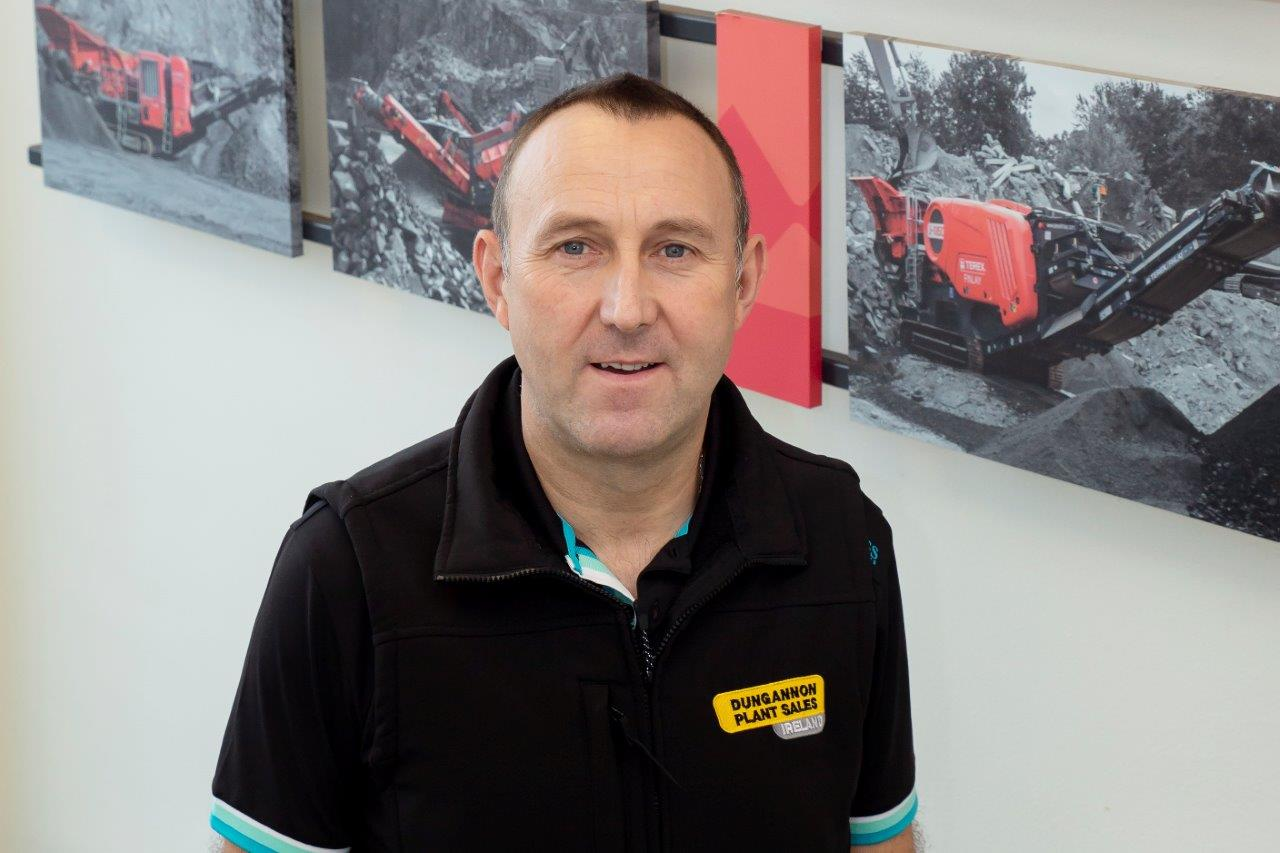 Alan Fallon, head of new Terex Finlay dealer DPS Ireland