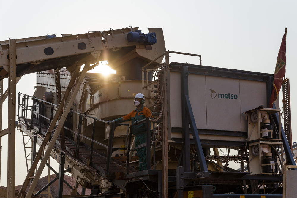 With its new Metso Outotec Rapid 350tph plant, ASG achieves more than 100,000 tonnes of production on average per month