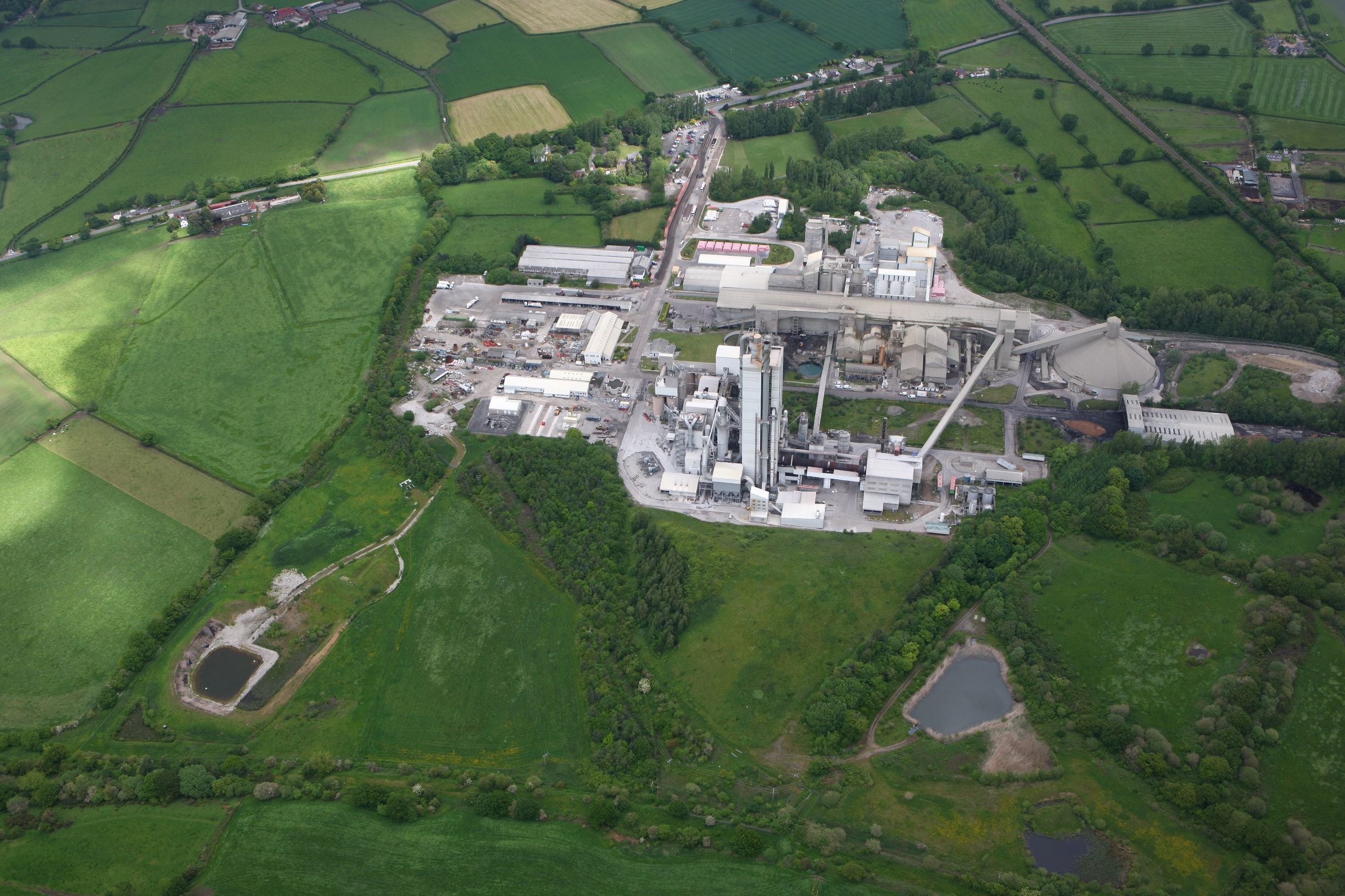 Hanson's Padeswood cement works will decarbonise as part of the HyNet North West project