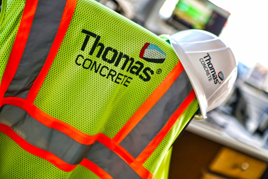 Thomas Concrete was praised for continuously surveying the level of engagement among employees