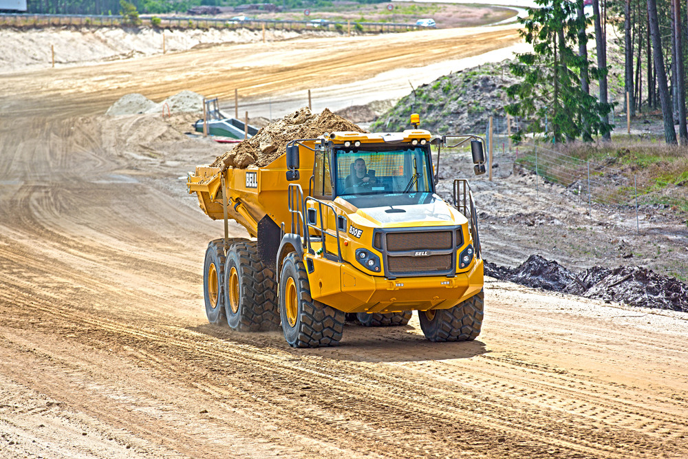 Haul road maintenance practices play a huge role in the overall productivity and safe operation of quarries