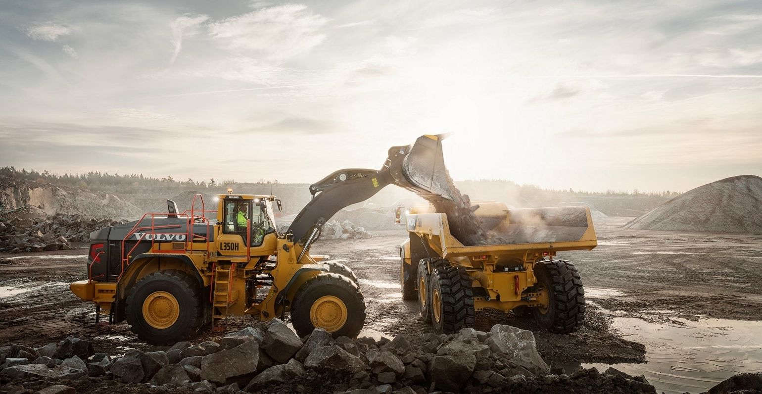 Government infrastructure investment has driven strong demand for Volvo CE products in China