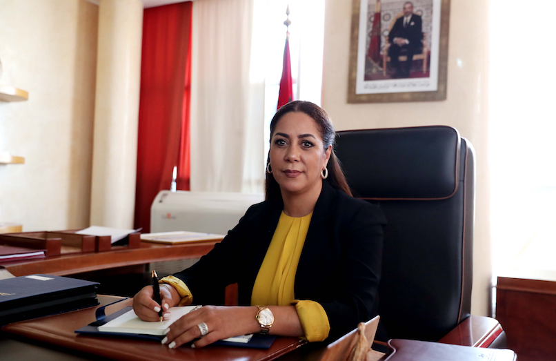 Nouzha Bouchareb: minister of National Land Use Planning, Town Planning, Housing and City Policy, Kingdom of Morocco