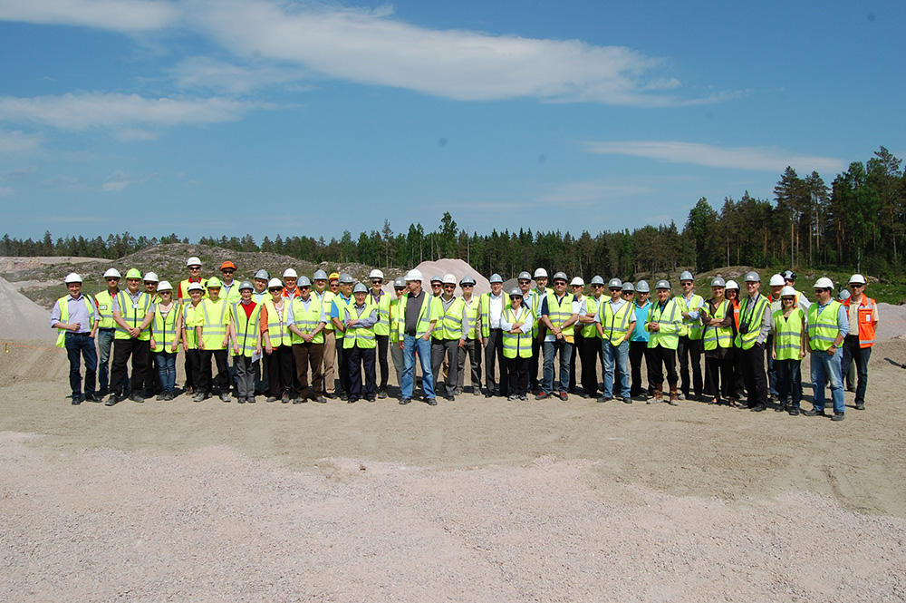 A site visit during the UEPG General Assembly in Helsinki, Finland, in 2014