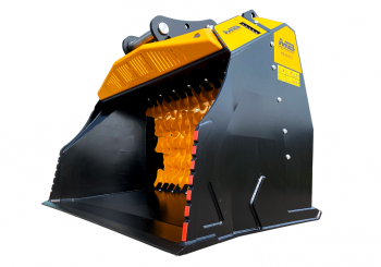 The new MB-HDS523 screener bucket is designed for a high productivity rate