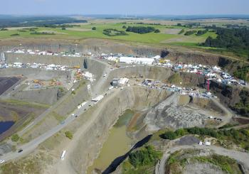The 2023 event will again take place at the giant Nieder-Ofleiden quarry site