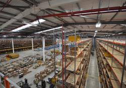 Finning's new National Distribution Centre in Cannock, England
