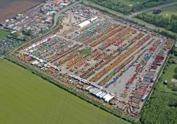 Euro Auctions' Leeds, northern England facility