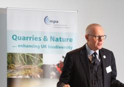 Mineral Products Association chief executive Nigel Jackson