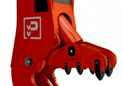 Promove's high-performance pressurised hydraulic breaker XP200