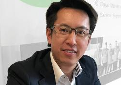 Peter Lam, the new VP Asia Pacific at Steelwrist