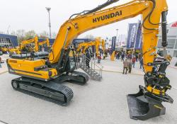 Hyundai will offer hydrogen fuel-cell excavators in the future