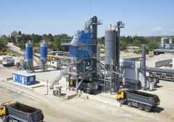 Three Benninghoven asphalt mixing plants are being used to develop Romania's road network