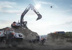 Doosan's XiteCloud solution encompasses drone-based surveys