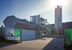 Liebherr's new self-service concrete plant