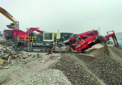 A Sandvik QI442 HS impact crusher is proving a vital asset to Guangdong-based Long Ying Construction Engineering