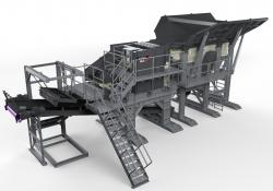 Terex MPS' new MJ55 Modular Jaw Crusher