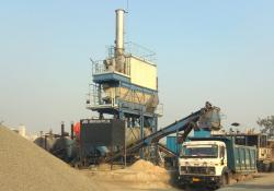 Ammann's ACC 90 asphalt mixing plant is being used by Indian road construction firm JRD