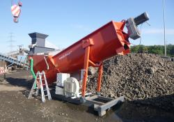 washbear can be used in quarrying, recycling, demolition and general construction applications