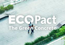 ECOPact is claimed to offer CO2 reductions of 30% to 70% compared with standard concrete