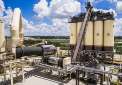 Astec says its Double Barrel XHR asphalt plant guarantees recycle percentages of 70%