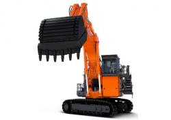 The 193-tonne EX2000-7 ultra-large hydraulic excavator