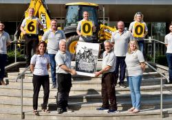 The Boot family celebrate JCB's 75th anniversary and their 600 years of service to the company