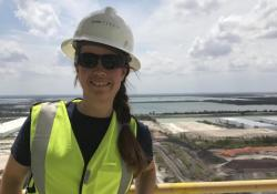 Titan Florida's Allyson Tombesi led the zero waste recertification (Credit: Titan Florida)