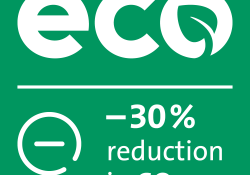 EcoLabel applies to cement and concrete with a 30% lower CO2 footprint or with 20% recycled content
