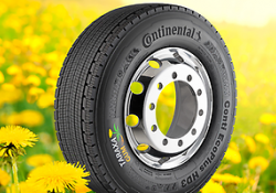 Continental's sustainability efforts include its Taraxagum project that produces natural rubber from dandelions
