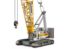 Liebherr's ground-breaking LR 1250.1 battery-powered crawler crane