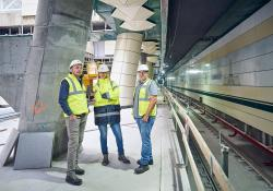 Holcim Romania has supplied special concrete for the new metro development