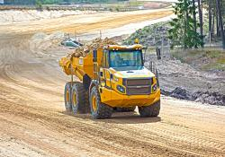 Haul road maintenance practices play a huge role in the overall productivity and safe operation of quarries.