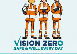 Vision Zero seeks to eliminate or mitigate the hazards that cause fatalities and incidents in the mineral products industry