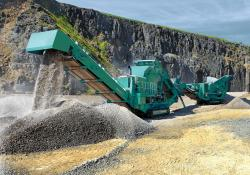 The new Powerscreen 1500 MaxTrack