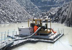 dewatering operation at its Penrhyn, North Wales quarry