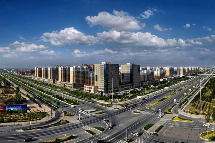 The Lanzhou New District city
