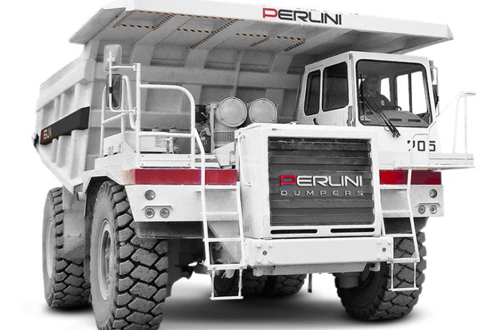 Perlini - the DP 705 WD dump truck