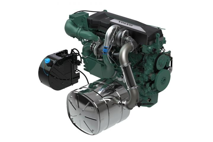 Volvo Penta's new D16 engine