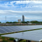 LafargeHolcim solar field – built in collaboration with Greenbacker Renewable Energy Company – will begin operations later this this month (Credit: LafargeHolcim)