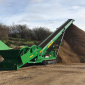 The McCloskey RF80 mobile feeder stacker