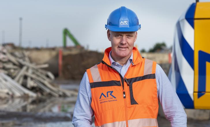 AR Aggregates MD Richard Dolman. Photo: Simon Camper