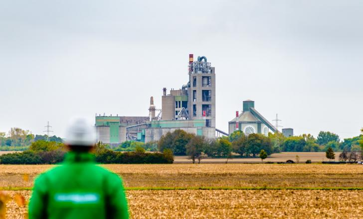 HeidelbergCement's ultra-modern Beremend cement factory in Hungary has won another award for its environmentally friendly operation pic: Attila Bartha for HeidelbergCement