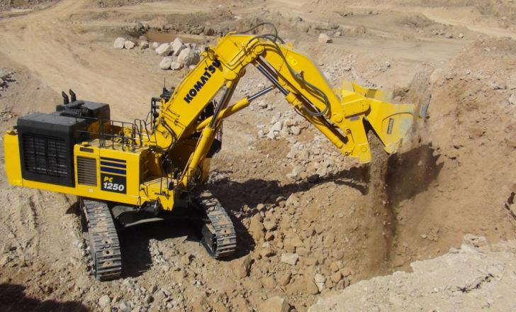 The PC1250-11 excels in any type of quarry application, thanks to its combination of power, durability and reliability